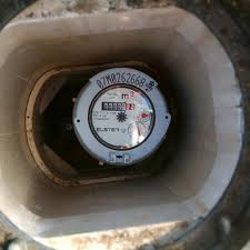 water meter in ground