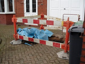If the blocked drain is located under your house, garden or drive way, you will be responsible for the cost of repairs.