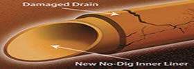 No dig drain patch repair Norwich